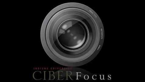 "Thumbnail for entry CIBER Focus: ""Humanitarian Logistics"" with Alfonso Pedraza-Martinez"