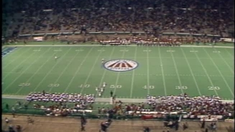 Thumbnail for entry 1986-12-31 vs Florida State - Halftime (All-American Bowl)