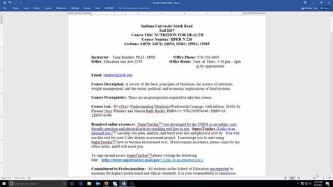 Thumbnail for entry N220 Fall 2017 Syllabus