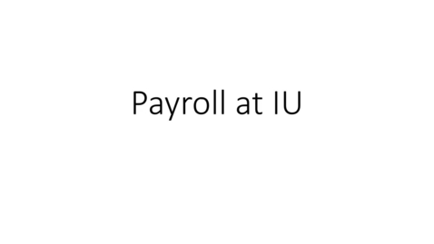 Thumbnail for entry Payroll at IU - How pay is calculated