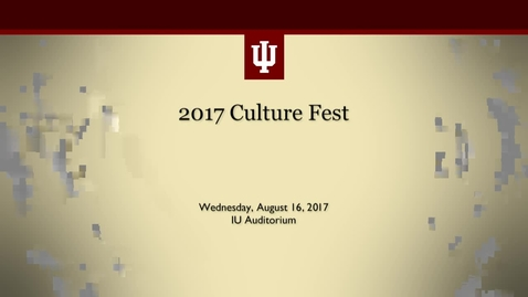 Thumbnail for entry IU CultureFest 2017
