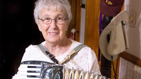 Thumbnail for entry MAA-Podcast-001: Helen Keisel Remembers and Plays Accordion