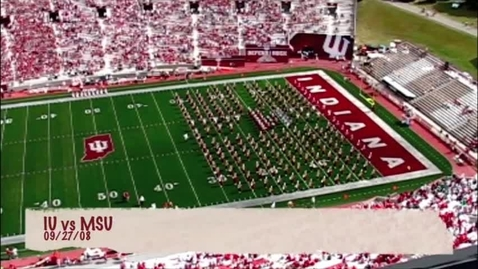 Thumbnail for entry 2008-09-27 vs Michigan State - Halftime