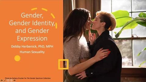 Thumbnail for entry Gender, Gender Identity, and Gender Expression
