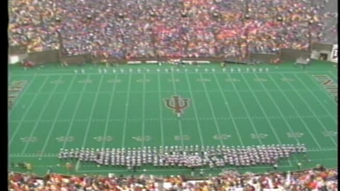 Thumbnail for entry 1986-10-25 vs Michigan - Halftime