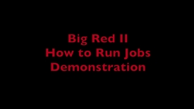 Thumbnail for entry HPC Demo 3 - How to Run Jobs