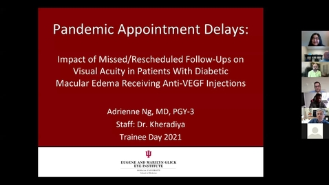 Thumbnail for entry Pandemic appointment delays