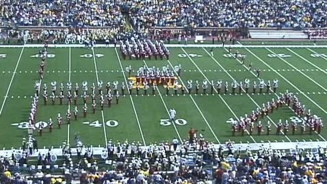 Thumbnail for entry 2003-09-27 at Michigan - Halftime
