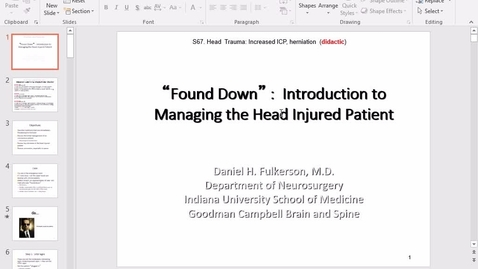 Thumbnail for entry TBI Concussion Fort Wayne - 2017 May 10 11:43:19