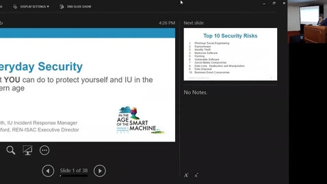 Thumbnail for entry Breakout session | Everyday security