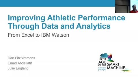Thumbnail for entry Breakout session | Improving athletic performance through data and analytics