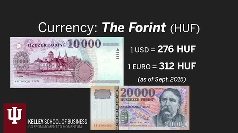 Thumbnail for entry IU CIBER Hungary Language & Culture Modules 4: Economy