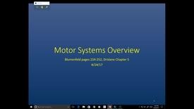 Thumbnail for entry Evv-N&B-Motor Systems Overview + UMNvLMN - 2017 Apr 24 02:50:48