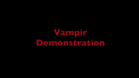 Thumbnail for entry L7 OpenMP - HPC Vampir Demo