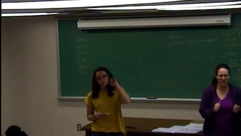 Thumbnail for entry Veronica - Invitational Speech