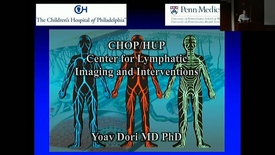 "Thumbnail for entry PEDS Grand Rounds 11/29/17: ""Lymphatic Circulation in Health and Disease: New Discoveries and New Treatment Options"" Yoav Dori MD, PhD"