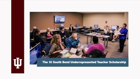 Thumbnail for entry School of Education Underrepresented Student Scholarship video