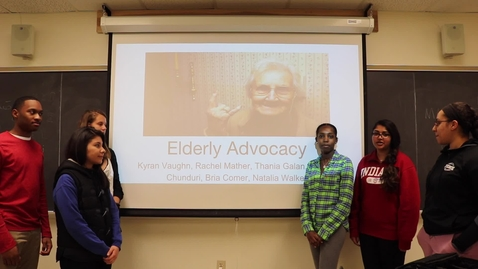 Thumbnail for entry Elderly Advocacy Group