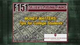 Thumbnail for entry F151_Money Matters Tips_Marvin Smith