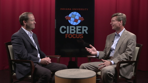 Thumbnail for entry CIBER Focus: Jay Hein, President, Sagamore Institute
