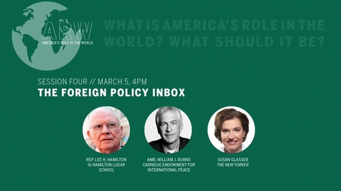 Thumbnail for entry ARW 2020 - Session 4: The Foreign Policy Inbox