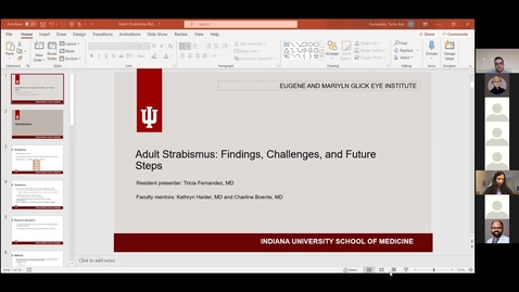 Thumbnail for entry Adult strabismus: Findings, challenges, and future steps