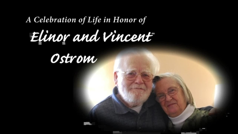 Thumbnail for entry Indiana University Celebrates the Lives of Elinor and Vincent Ostrom