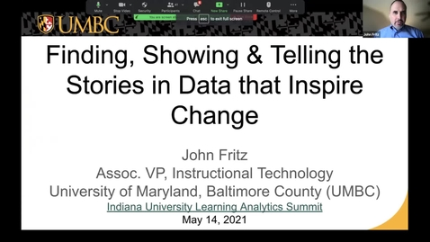 Thumbnail for entry Finding, Showing & Telling the Stories in Data That Inspire Change