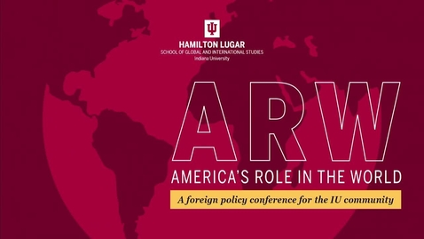 Thumbnail for entry America's Role in the World 2019 - Welcome with Lee Feinstein - America's Role in the World 2019