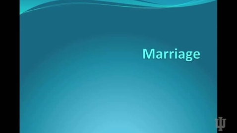 Thumbnail for entry Marriage