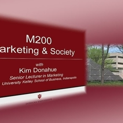 Thumbnail for channel M200 Marketing & Society