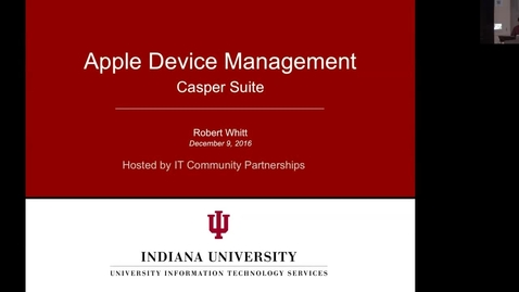 Thumbnail for entry Casper Infoshare December 9 2016