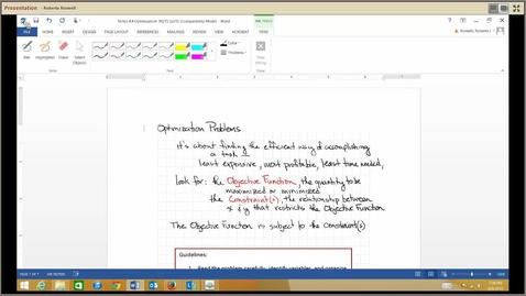 Thumbnail for entry M215_4.4 Optimization