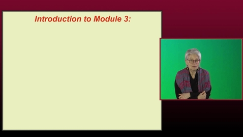 Thumbnail for entry n534Module 3 Lecture 1