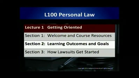 Thumbnail for entry L100 01-2 Learning Outcomes & Goals