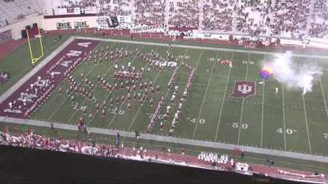 Thumbnail for entry 2013-08-29 vs Indiana State - Halftime