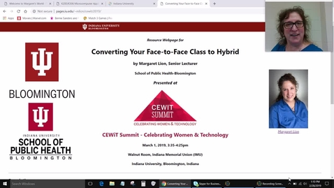 Thumbnail for entry CEWiT Summit 2019 Workshop Welcome