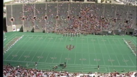 Thumbnail for entry 1987-10-03 vs Northwestern - Pregame