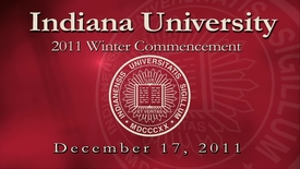 Thumbnail for entry 2011 Winter Commencement