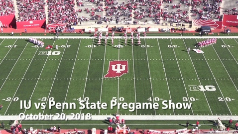 Thumbnail for entry 2018-10-20 vs Penn State - Pregame