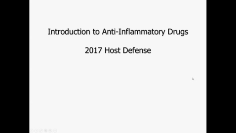 Thumbnail for entry Antiinflammatory Agents- 2017 Mar 09 10:14:36