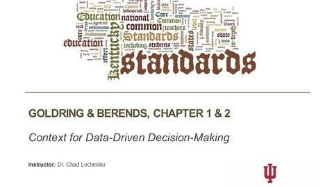 Thumbnail for entry A629 Week 2 - Defining Data Driven Decision-Making
