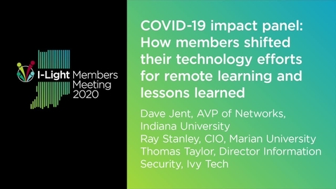 Thumbnail for entry COVID-19 Impact Panel