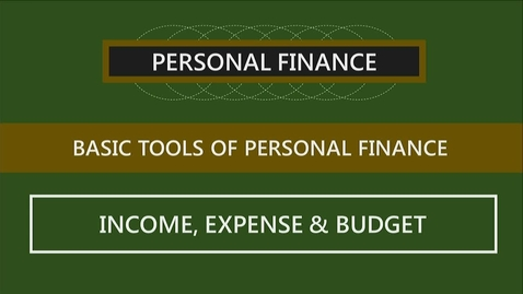 Thumbnail for entry F251 02-2 Income, Expenses & Budgets