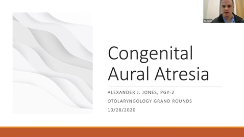 Thumbnail for entry 10.28.2020 Department of Otolaryngology Grand Rounds