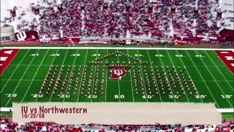 Thumbnail for entry 2008-10-25 vs Northwestern - Halftime (Homecoming)