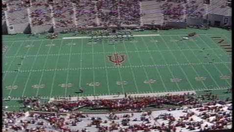 Thumbnail for entry 1996-10-12 vs Iowa - Pregame (Homecoming)
