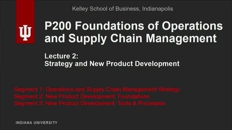 Thumbnail for entry P200 02-1 Operations and Supply Chain Management Strategy