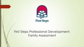 Thumbnail for entry C. Session 2. Lisa- How to Introduce the Family Assessment Tool