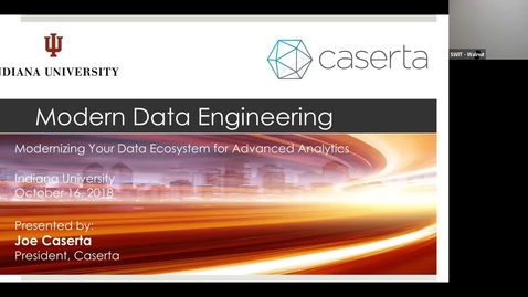 Thumbnail for entry Statewide IT 2018 - Modern data ecosystem futures